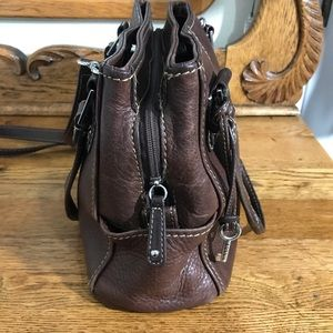 Fossil Bags - Fossil Medium Brown Leather Shoulder Hand Bag